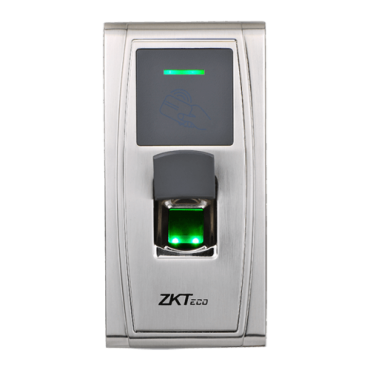ZK-MA300-BT: Bluetooth Access Control - Fingerprints and EM RFID Card - 1.500 recordings / 50.000 records - TCP/IP, USB, RS485, Wiegand & Relay - Metallic valid for exterior IP65 - Software ZKAccess 3.5