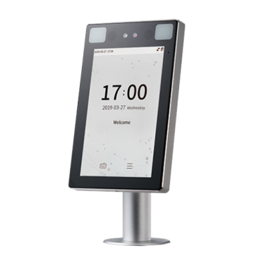 ZK-PROFACEX-TD-T: ZKTeco access control for turnstiles - Detection of fever and mask - Face and palm recognition - 30.000 faces, 200.000 registrations - TCP/IP | Presence Modes - Free BioAccess software included