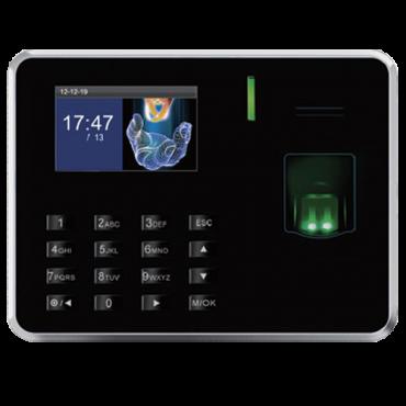 ZK-UA150MF: Simple Time & Attendance and Access control - Fingerprints, Mifare cards and keypad - 500 recordings / 50.000 records - TCP/IP, USB and Relay - Time & Attendance control mode management - ZkTimeNet 3.0 Lite | ZkTimeNet 3.0