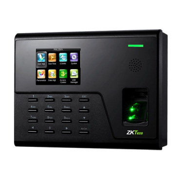 ZK-UA760: Time & Attendance control - Fingerprints, EM RFID card and keyboard - 3.000 recordings / 100.000 records - TCP/IP and WiFi - Time & Attendance control mode management - ZkTimeNet 3.0 Lite | ZkTimeNet 3.0
