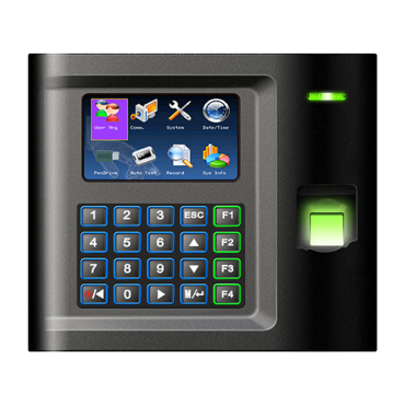 ZK-US10C-ID: Time & Attendance control - Fingerprints, EM RFID card and keyboard - 5.000 recordings / 100.000 records - TCP/IP, RS232 & USB - Time & Attendance control mode management - ZkTimeNet 3.0 Lite | ZkTimeNet 3.0| SmallBusiness