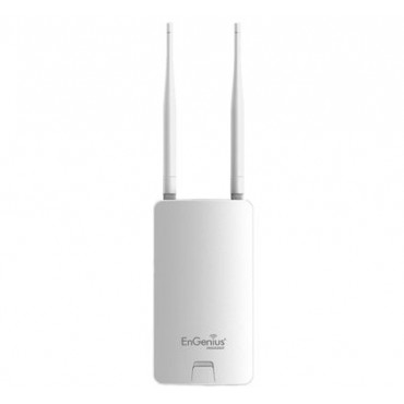 ENS202EXT : Omni-directional wireless link, Frequency of 2.4 Ghz, 802.11b/g/n 300Mbps, IP65, suitable for exterior, Power 400 mW, Compatible with IP cameras and DVR