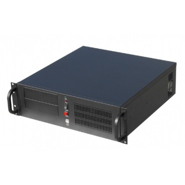 "BS10C002-1 : PC-Based NVR - 19"" Rack- mount chassis (3U) - 2TB HDD - 16GB memory - Camsec BI Management Software - max. 8 cameras"