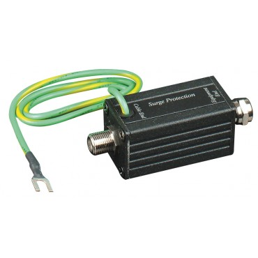 SP002 : Coaxial Surge Protector for both CCTV, CATV use - F Connector