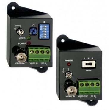 TTA111V : CVBS 1.5KM UTP Video Active Transceivers :  TTA111VT Active TX +TTA111VR Active RX