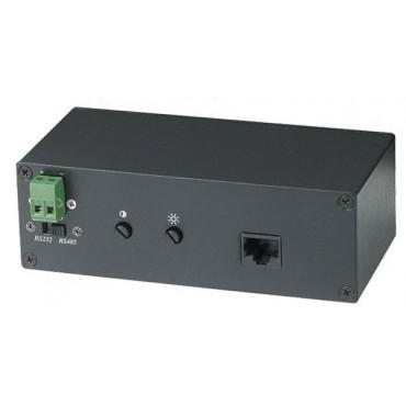 VE01S: VGA & RS232/RS485 Data Long Range CAT5 Extender  300M