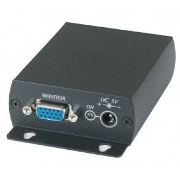 VE02: CAT5 VGA 1 in 2 out Distributor ( VD102-T+TTA111VGA-R)   300M
